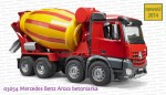 03654 BRUDER Mercedes Benz Arocs betoniarka