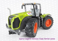 03015 BRUDER Ciągnik rolniczy Claas Xerion 5000