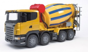 03554 BRUDER Scania R betoniarka