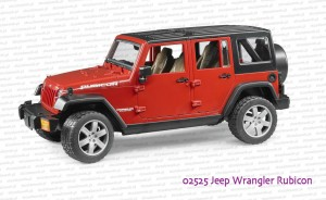 02525 BRUDER Jeep Wrangler Unlimited Rubicon
