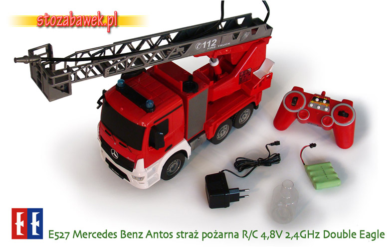 E527 Mercedes Benz Antos straż pożarna r/c Double Eagle