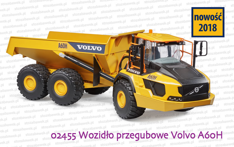 Bruder Nowość 2018 - Volvo A60H