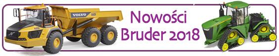 Nowości Bruder 2018