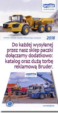 Bruder gratisy od sklepu stozabawek.pl